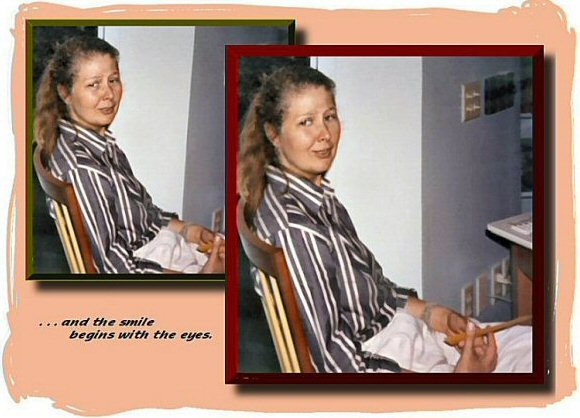 Photo Restoration and Retouch - Shirley - Photo Restoration by SmileDogProductions.com