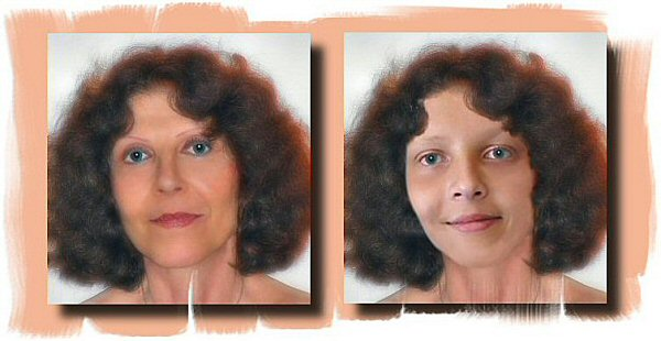 Photo Restoration, Restore and Retouch - Geri as teenager - Photo Restoration by SmileDogProductions.com
