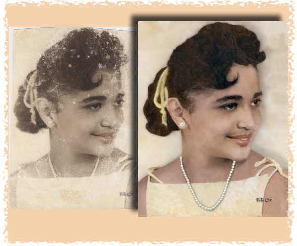 Photo Restoration by smiledogproductions.com.  Photo Restore
