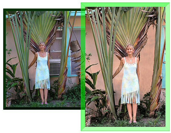 Photo Restoration, Restore and Retouch - change background, Elf - Photo Restore by SmileDogProductions.com