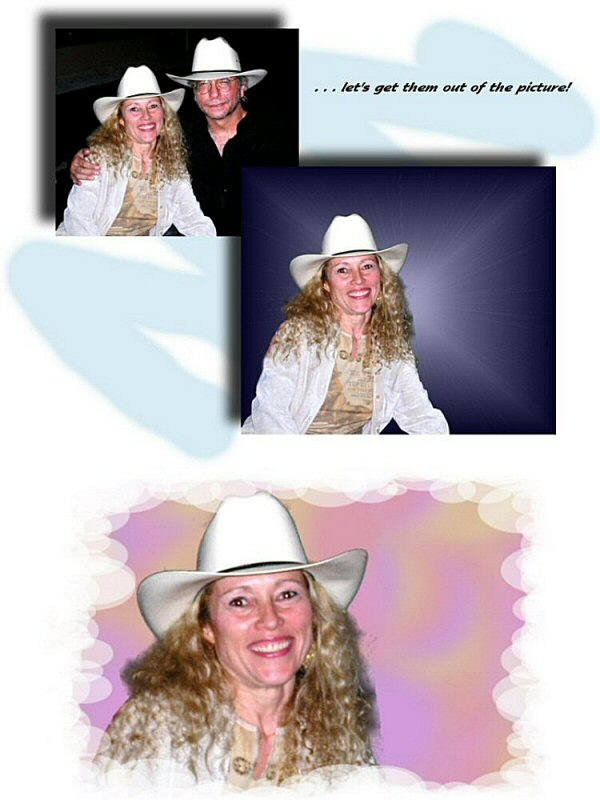 Photo Restoration, Restore and Retouch. Remove Person from Photo - Marie - Photo Restore by SmileDogProductions.com